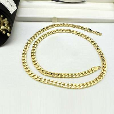 "High Quality Gold Chains - Italy Traditional Craft - Various Lengths - 1/4"" wide"