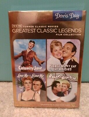 DORIS DAY TCM GREATEST CLASSIC LEGENDS FILM COLLECTION DVD  Factory Sealed Real