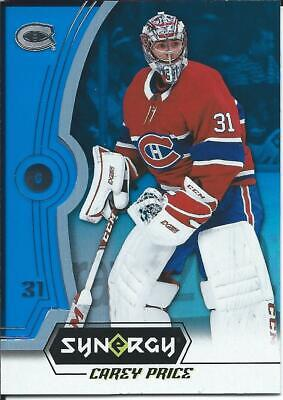 2018-19 Upper Deck Synergy CAREY PRICE Blue Parallel #31 Montreal Canadiens