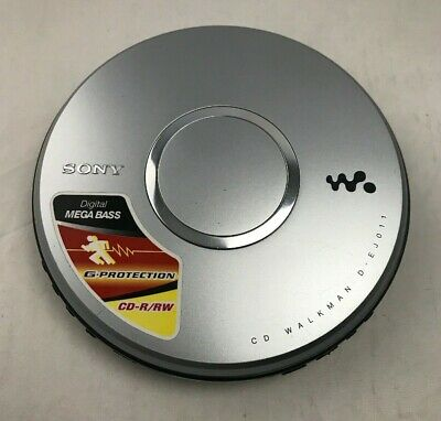 Vintage Retro SONY CD WALKMAN D-EJ011 G-Protection Digital MEGABASS CD-R/RW