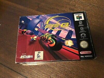 Extreme G Boxed Nintendo 64 Game PAL OZ Seller! FAST POST N64 (No Insert)