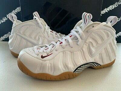 sports shoes daac9 66b47 NIB Nike Air Foamposite Pro Winter White Gorge Green Red Shoes Mens 11.5 DS  NEW