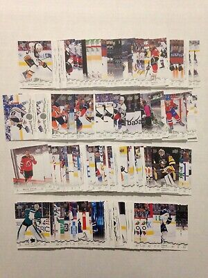 2018-19 Upper Deck Series 1 Base Cards- You Pick! Free Combined Shipping!