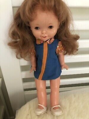 14 Inch vintage 1960s Famosa Doll In Original Outfit