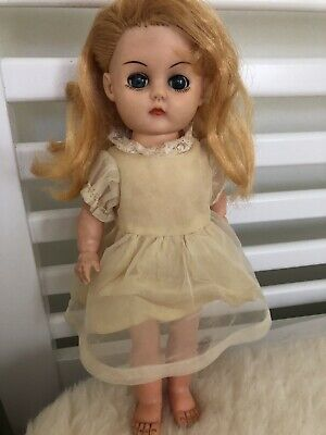 13 Inch vintage 1960s doll