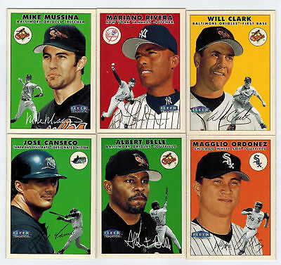 2000 Fleer Tradition = Pick 18 to Complete Your Set