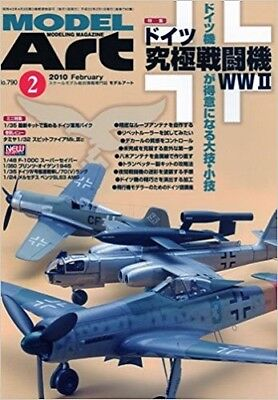Model Art 2010 2 Modeling Magazine Germany ultimate fighter WWII Book Japan
