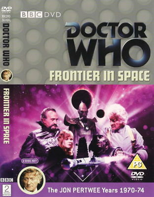 Doctor Who - Frontier in Space - REGION 2 - Official BBC DVD from UK - Dr Who