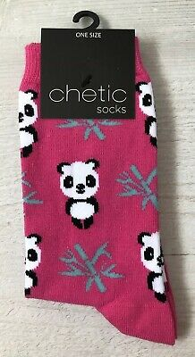 Ladies//Girls Red Panda Faces And Bamboo Cotton Ankle Socks