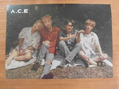 A.C.E - ACE Adventures in Wonderland (Ver. B) [OFFICIAL] POSTER K-POP *NEW*
