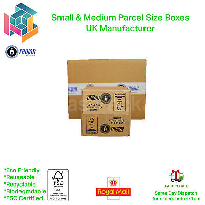 Quality Single Wall Postal Mailing Cardboard Boxes - 20 Sizes! - Multi Listing