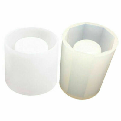 Silicone Pen Pot Cup Moulds Jewelry Making Cube Resin Casting Crafts Molds DIY