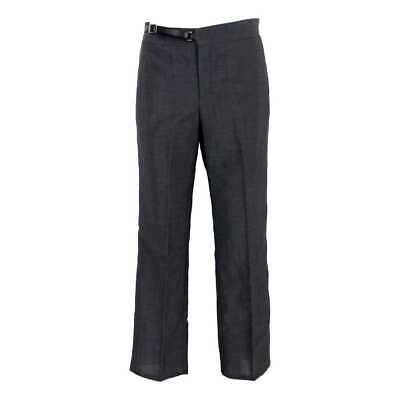 Gucci Classic Trousers Vintage Wool Gray