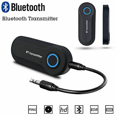 USB Bluetooth Ricevitore & Trasmettitore 3.5MM Audio Dongle TV MP3 PC Adattatore