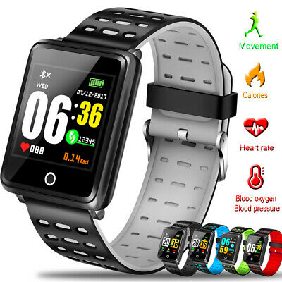 F3 bluetooth Smart Watch Heart Rate Oxygen Blood Pressure Sport Fitness Tracker