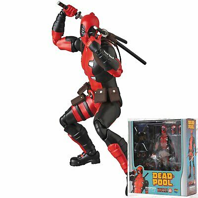 Mafex No.82 Marvel Comics Deadpool (Gurihiru Art Ver.) Action Figure