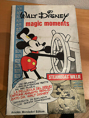 MAGIC MOMENTS cartonato DISNEY con pellicola e cofanetto 1° edizione 1973