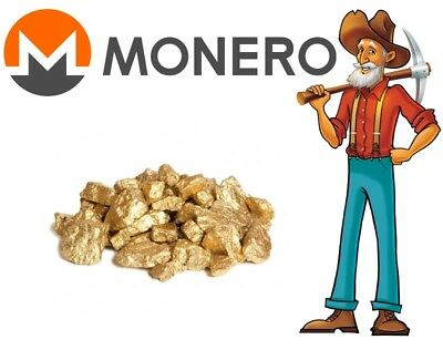 Cryptonight Mining Contract Monero 1kH/s 24h (CryptonightR)
