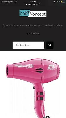 seche cheveux sechoir parlux advance light