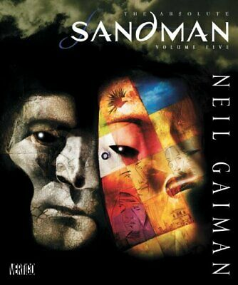 Absolute Sandman HC Vol 05 by Gaiman  New 9781401232023 Fast Free Shipping..