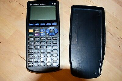 Texas Instruments TI-89 Graphing Graphic Calculator w Case / Cover Working