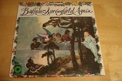 Buffalo Springfield Again Sealed 1970's Atco Stereo LP No Barcode Neil Young