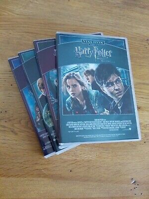 Harry Potter Complete 8-film Collection DVD   **FREEPOST**