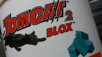 TOMCAT 2 BLOX Bait Blocks 1 5 KG -Kills Rats And Mice - Rat Poison