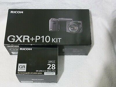 Ricoh GXR Kit with S10 and 28mm A12 module