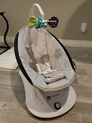 4moms 2000374 - rockaRoo Compact Baby Swing with Front to Back Gliding Motion