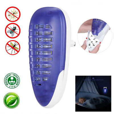 LED UV Light Electric Mosquito Killer Lamp Fly Insect Bug Trap Light Home Office