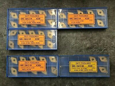 45 Turning Inserts DNNG 150412 QCT-TOOLMEX