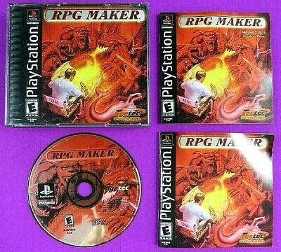 RPG MAKER - PlayStation 1 - game only - $3 99 | PicClick