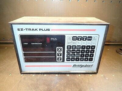 Bridgeport EZ-Trak Plus, 15722, 3-Axis Digital Read-Out DRO CNC Controller Proto