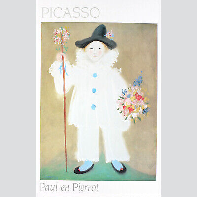 Picasso - Paul en Pierrot - 1985