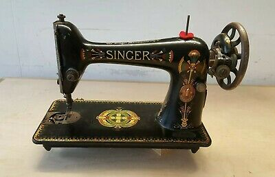 Vintage Antique SINGER sewing machine F code f7994383 collectable