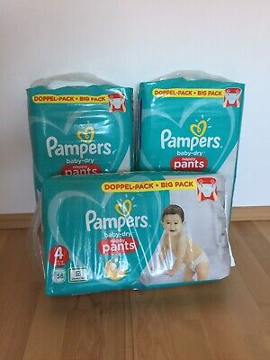 Pampers Baby Dry Pants Gr. 4 Windeln Doppelpack