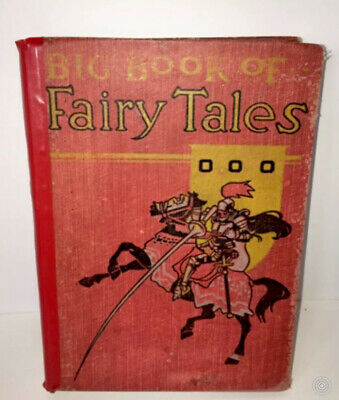 1892 BIG BOOK OF FAIRY TALES Illustrated By Gustave Dore And Other Artists