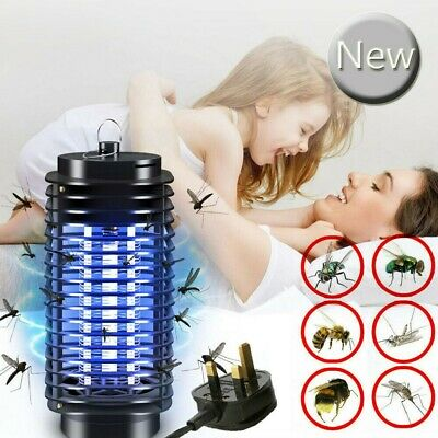 Electric UV Insect Killer Mosquito Fly Pest Bug Zapper Catcher LED Night Lamp UK