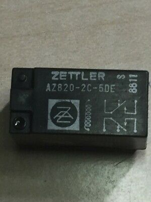 AZ820-2C-5DE Relay DPDT 5A 5VDC 52Ohm  Through Hole  American Zettler