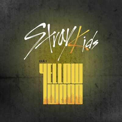 STRAY KIDS - Clé 2:Yellow Wood [Clé 2+Yellow Wood ver. SET] CD+Gift+Tracking no