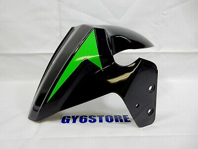 TAOTAO 50cc THUNDER BLADE FRONT WHEEL FENDER (BLACK / GREEN) *OEM*