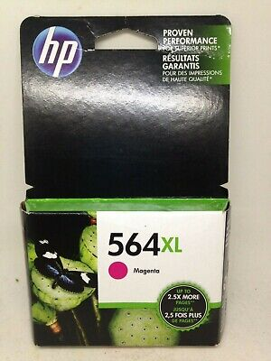 Hewlett Packard OEM hp 564XL Magenta Ink Cartridge Exp Oct 2018 New Sealed