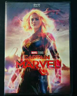 Captain Marvel (DVD, 2019) BRAND NEW - FREE FAST SHIPPING!!!