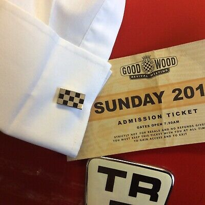 Goodwood Revival Style Cufflinks