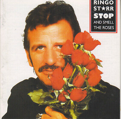 Ringo Starr Stop and Smell the Roses cd USA in EX condition