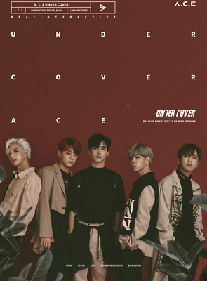 A.C.E ACE UNDER COVER 2nd Mini Album K-POP CD + PHOTO CARD + FOLDED POSTER NEW