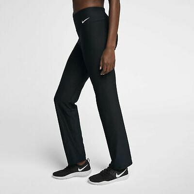 9d3d6df9e4434 Women's Nike Power Classic Gym Pants Black New 933832 010 Size Small