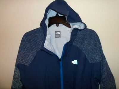 2cf40687c THE NORTH FACE STORMY TRAIL Performance/Running Jacket Size L Blue NWT $175