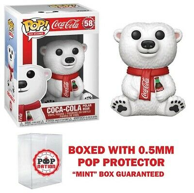 "Funko Pop Ad Icons : Coca-Cola Polar Bear #58 Vinyl ""MINT"" (In Stock)"